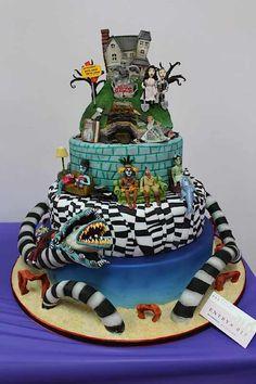 Beetle juice cake