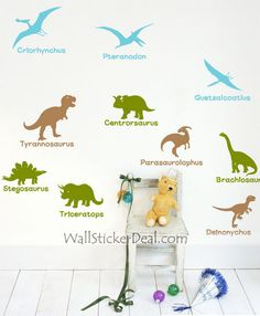 Jurassic Dinosaur Ages Wall Sticker