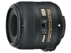 Macro lens: Nikon 40mm f/2.8G AF-S DX Micro NIKKOR Lens for Nikon Digital SLR Cameras