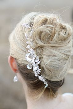 I think these are called Hair Vines | So Feminine! |   Photography: Jennifer Ebert Photography See more: http://stylemepretty.com/2013/03/22/wrap-it-up-pretty-prim-pixie-styled-shoot-winners/