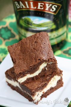 Irish Cream Brownies, anything with Bailey's is perfect.