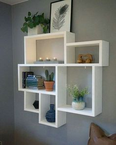 10 Clever Ideas Small Corner Shelves For Living Room Design www. design living room 10 Clever Ideas Small Corner Shelves For Living Room Design Corner Wall Shelves, Wall Shelf Decor, Living Room Shelves, Diy Wall Shelves, Bedroom Wall Shelves, Decorative Wall Shelves, Small Shelves, Living Rooms, Design Room