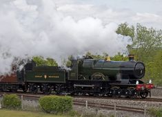 City of Truro No First locomotive to break 100 mph in or so it is said Severn Valley, Abandoned Train, Steam Railway, British Rail, Truro, Great Western, Steam Engine, Steam Locomotive, Train Travel