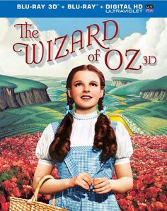 The Wizard of Oz 3D Blu-Ray