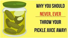This days, it seems that more and more people are discovering the benefits of eating fermented foods like kimchi, kombucha and our old favorite: pickles! Pickle juice basically consists of water, vinegar and salt. Drinking Pickle Juice, Pickle Juice Uses, Infused Vodka, Pickle Jars, Hard Workout, Heartburn, Fermented Foods, Gut Health, Health Care