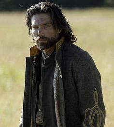 Anson Mount's portrayal of the tortured but tough Cullen Bohannon in Hell on Wheels served as inspiration for Ransom Byrne in Lover for Ransom (minus the beard though).