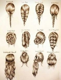 Different hair styles for blond hair!