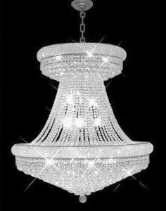 C121-SILVER/1800special/3645 Primo CollectionEmpire Style CHANDELIER Chandeliers, Crystal Chandelier, Crystal Chandeliers, Lighting