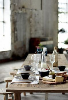 table by the style f