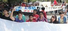 Estudiantes del IPN protestan por cambios en el reglamento