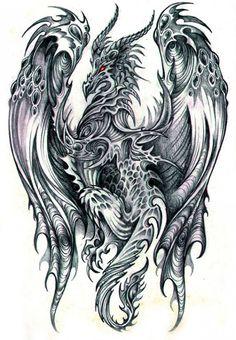 Превосходные рисунки драконов простым карандашом http://www.inspireme.ru/post/74814