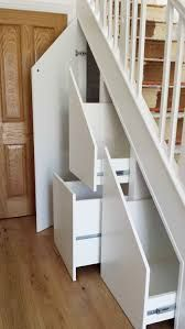 Genius Under Stairs Storage Ideas For Minimalist Home 36 - Home Design Ideas 2020 Space Under Stairs, Under Stairs Cupboard, Under Stairs Drawers, Stair Drawers, Diy Drawers, Kitchen Fitters, Staircase Storage, Under Stair Storage, Staircase Design