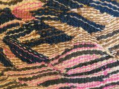 "silvia heyden detail of ""red leaves"" | weaving | Pinterest"