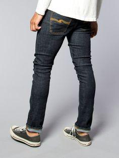 Tube Tom Organic Twill Rinsed - Nudie Jeans Co Online Shop