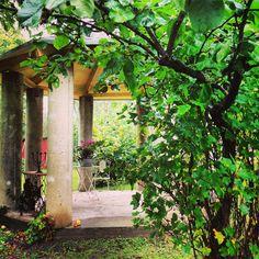 The beautifull garden of house Elegans in Lohja, Finland.