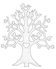 arbre avec oiseaux
