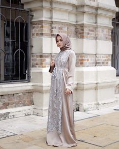 Dress long party chic 45 New Ideas Modest Dresses, Modest Outfits, Simple Dresses, Pretty Dresses, Dress Outfits, Modest Clothing, Abaya Fashion, Muslim Fashion, Modest Fashion