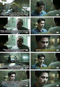 """#TeenWolf 5x12 """"Damnatio Memoriae"""" - Stiles and his dad"""