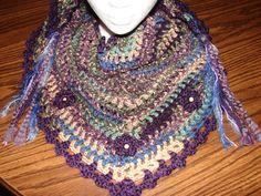 Road Trip Scarf (free pattern) Hobby Lobby yarn