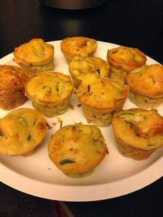 Bimby, Muffin Salati con Zucchine e Salmone
