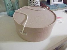 how to make a hat box - Google Search