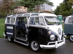 VW Microbus 21-window. If I ever get over not wanting kids, this is what we'll use on family road trips.
