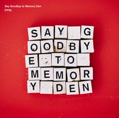 Say Goodbye to Memory Den Let It Out, Saying Goodbye, Songs 2017, Cd Cover, Memories, Sayings, Music, Amazon, Artworks