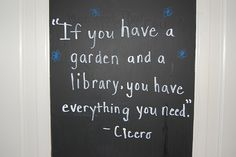 More Books and Gardens
