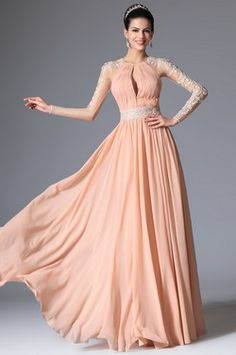 eDressit 2014 New Pink Grecian Neckline Lace Evening Dress Prom Formal Gown (00147801) - USD 159.99