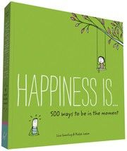 Mindful living is happy living. This refreshing book from the creators of Happiness Is . . . illustrates 500 inspiring ways to slow down, unplug, de-stress, connect with others, and relish the simple moments in life: sitting under a ceiling fan on a hot day, taking lunch away from your desk, letting go of negative thoughts, a beach yoga session, and more. Featuring the brand's signature charming illustration style and friendly tone, this book sparks positive reflection and serves to remind…