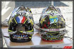 Valentin Teillet Helmets