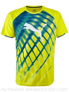 Puma Men's Fall EvoTrg Top (Yellow) | Tennis Warehouse