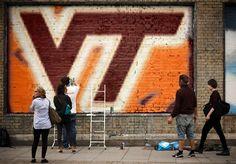 My VT graffiti