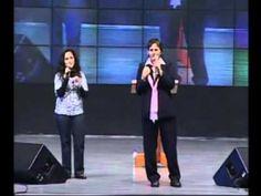 Testemunho de Glória Polo - na Canção Nova - Pregação completa - RCC 2009
