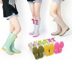 6 Stylish Rain Boots for Spring
