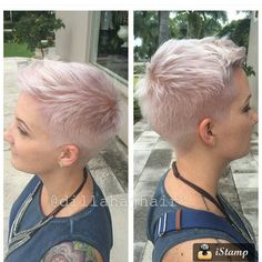 """1,475 Likes, 21 Comments - Short Hairstyles   PixieCuts (@nothingbutpixies) on Instagram: """"Always a great photo @dillahajhair this time on client @ferrarocity"""""""