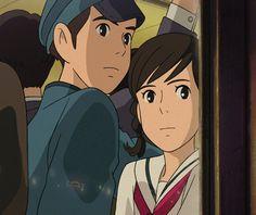 Studio Ghibli Gifs uploaded by Hayao Miyazaki, All Studio Ghibli Movies, Studio Ghibli Art, Personajes Studio Ghibli, Studio Ghibli Background, Up On Poppy Hill, Secret World Of Arrietty, Japanese Animated Movies, Arte Disney