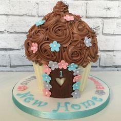 New Home Giant cupcake