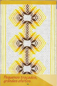 Discover thousands of images about Patrones Punto de Cruz: punto yugoslavo Swedish Embroidery, Geometric Embroidery, Simple Embroidery, Beaded Embroidery, Hand Embroidery, Applique Quilt Patterns, Embroidery Patterns, Swedish Weaving Patterns, Chicken Scratch Embroidery