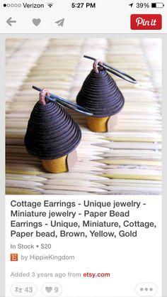 Cupcake shaped paper beads?
