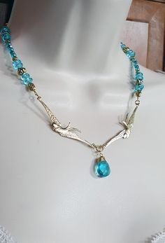 Necklace & Earring set @ K. Lynn Designs. $30/set @ http://www.kaylynndesigns.com/index.php?main_page=product_info&cPath=1&products_id=1180#.V0oqUI-cGUl #birddesigns #handmadejewelry #birdjewelry