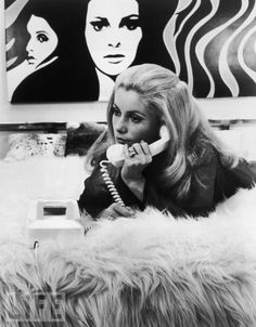 Catherine Deneuve, 1968 & Marilyn  http://www.pinterest.com/pin/356417757981462076/