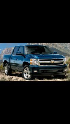 Chevy Silverado! My future truck!