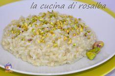 risotto con crema di carciofi e pistacchi