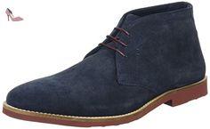 Red Tape Dorney - Desert Boots Homme - Bleu (Bleu Marine/Suède) - 45 EU - Chaussures red tape (*Partner-Link)