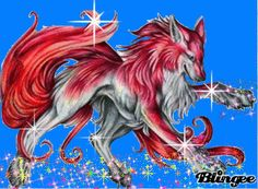 magical wolf - Google Search