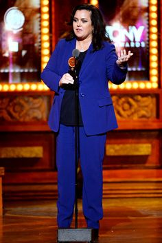 Rosie O'Donnell accepts the Isabelle Stevenson Award onstage during the 68th Annual Tony Awards at Radio City Music Hall on June 8, 2014 in ...