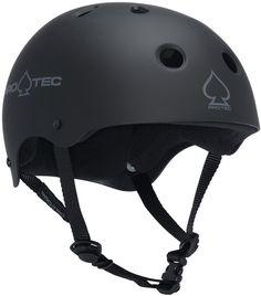 74713e95e ProTec Classic Skate Helmet - matte black - Free Shipping Black Helmet