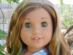 Here is a beautiful picture of American girl doll Lea Clark GOTY 2016 from littlehouseofamericangirl