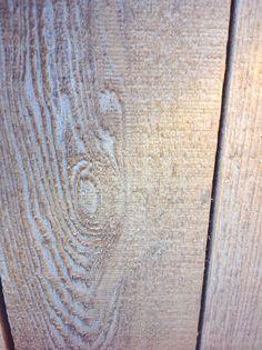 White enamel washed Cedar